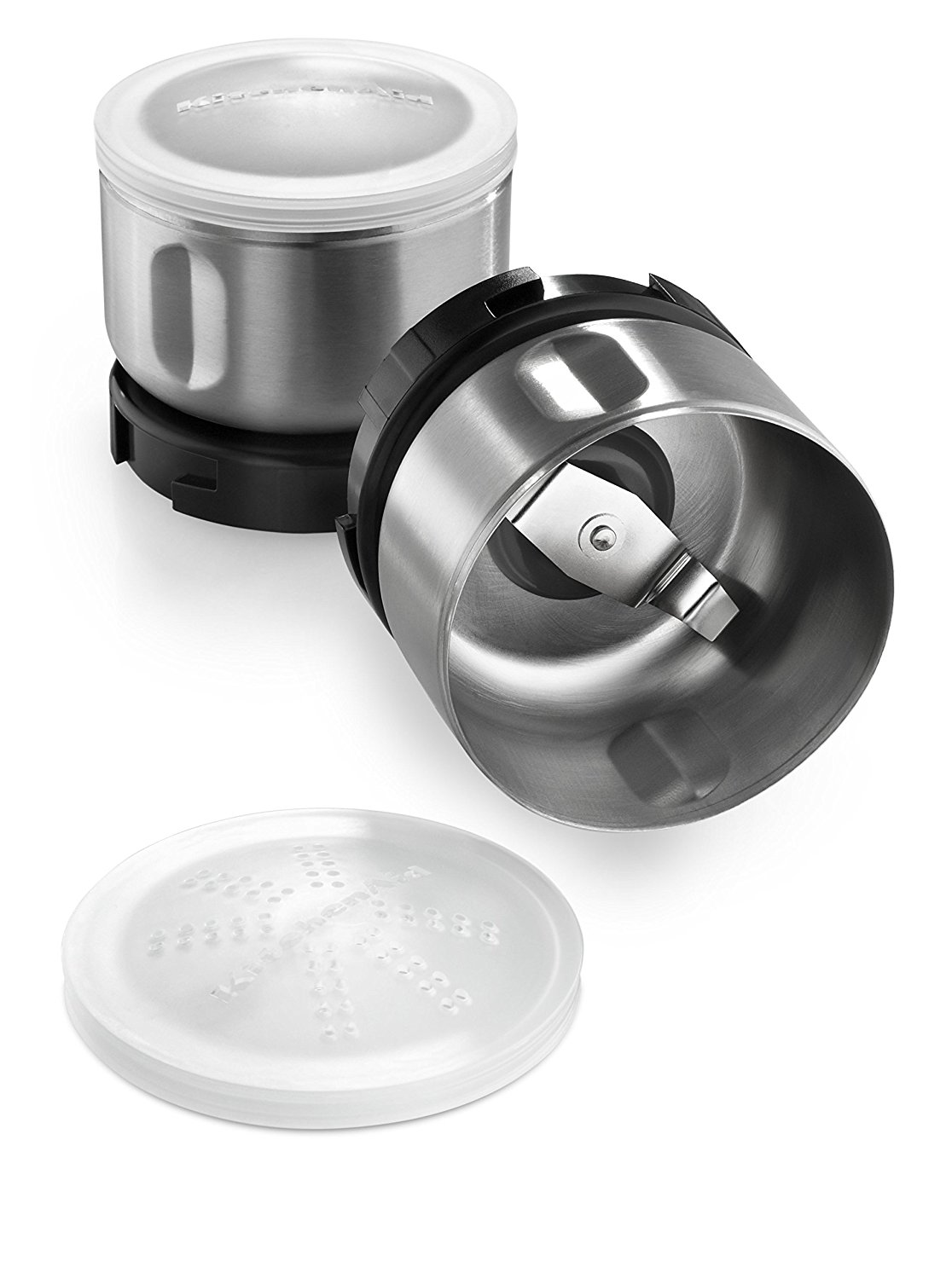 Bcgsga Spice Grinder Accessory Kit, Stainless Steel, Ship from USA,Brand KitchenAid by