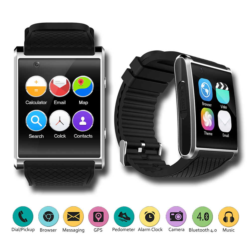 Android 5.1 SmartWatch by Indigi® 1.54-inch AMOLED + WiFi + GPS (3G GSM unlocked)