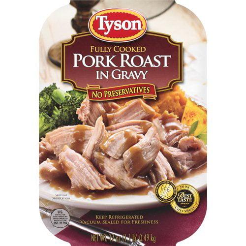 Tyson: Fully Cooked In Gravy Pork Roast, 17 Oz