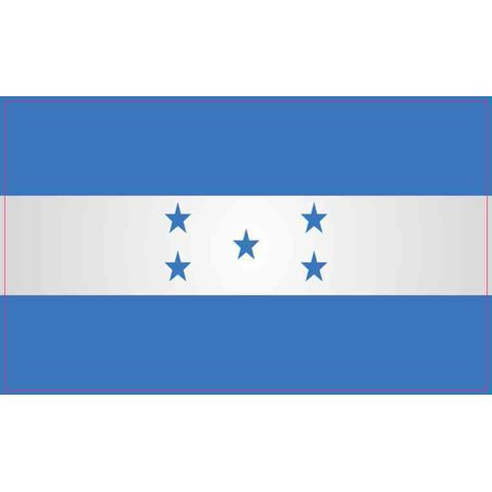 5in x 3in Honduras Flag Magnet Magnetic Flags Vehicle Bumper Magnets