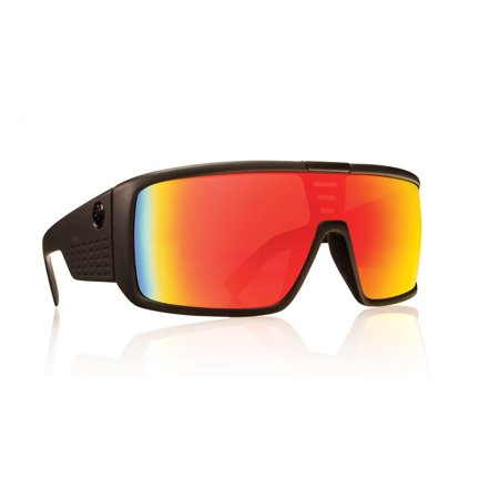 Dragon Alliance720-2209 Domo Matte Black / Red Ion Polycarbonate (White Dragon Sunglasses)