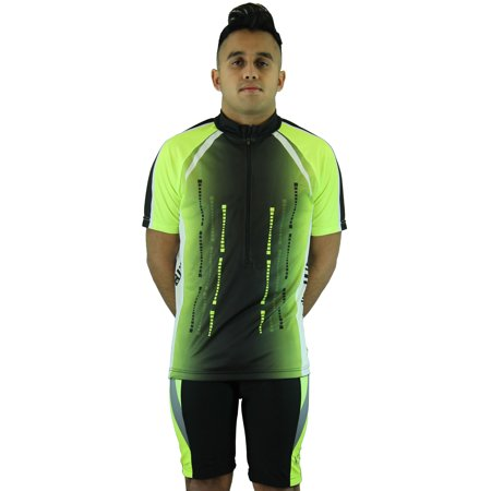 Carbon Cycling Jersey (Men's Cool Plus Sublimated Print Race Cut Short-Sleeve Biking Cycling)