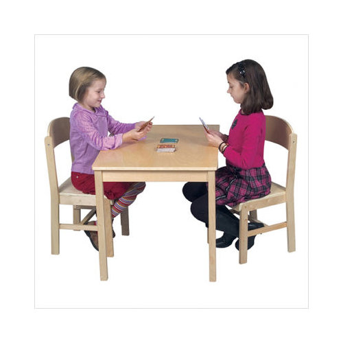 Bundle-25 Guidecraft Woodscape Kids' Writing Table (3 Pieces)