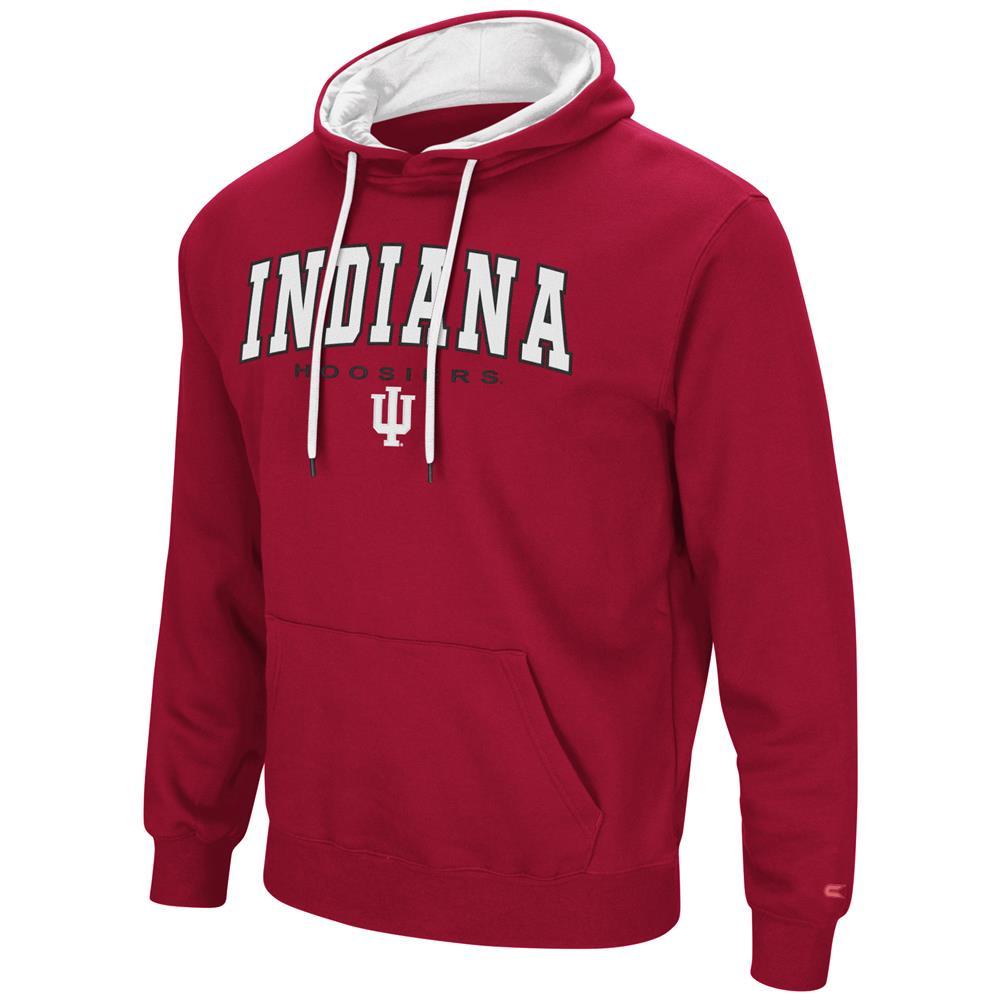 Men's Zone III Indiana University Hoosiers Hoodie Pullover Sweatshirt