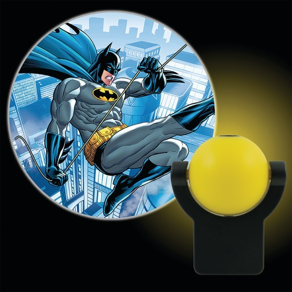 Projectables DC Comics Batman LED Plug-In Night Light, Batman, 10445