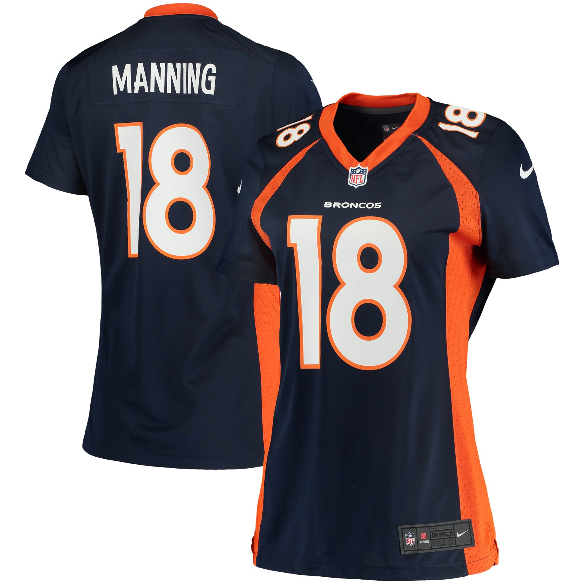 Peyton Manning Denver Broncos Nike Women's Game Jersey - Navy Blue - Walmart.com
