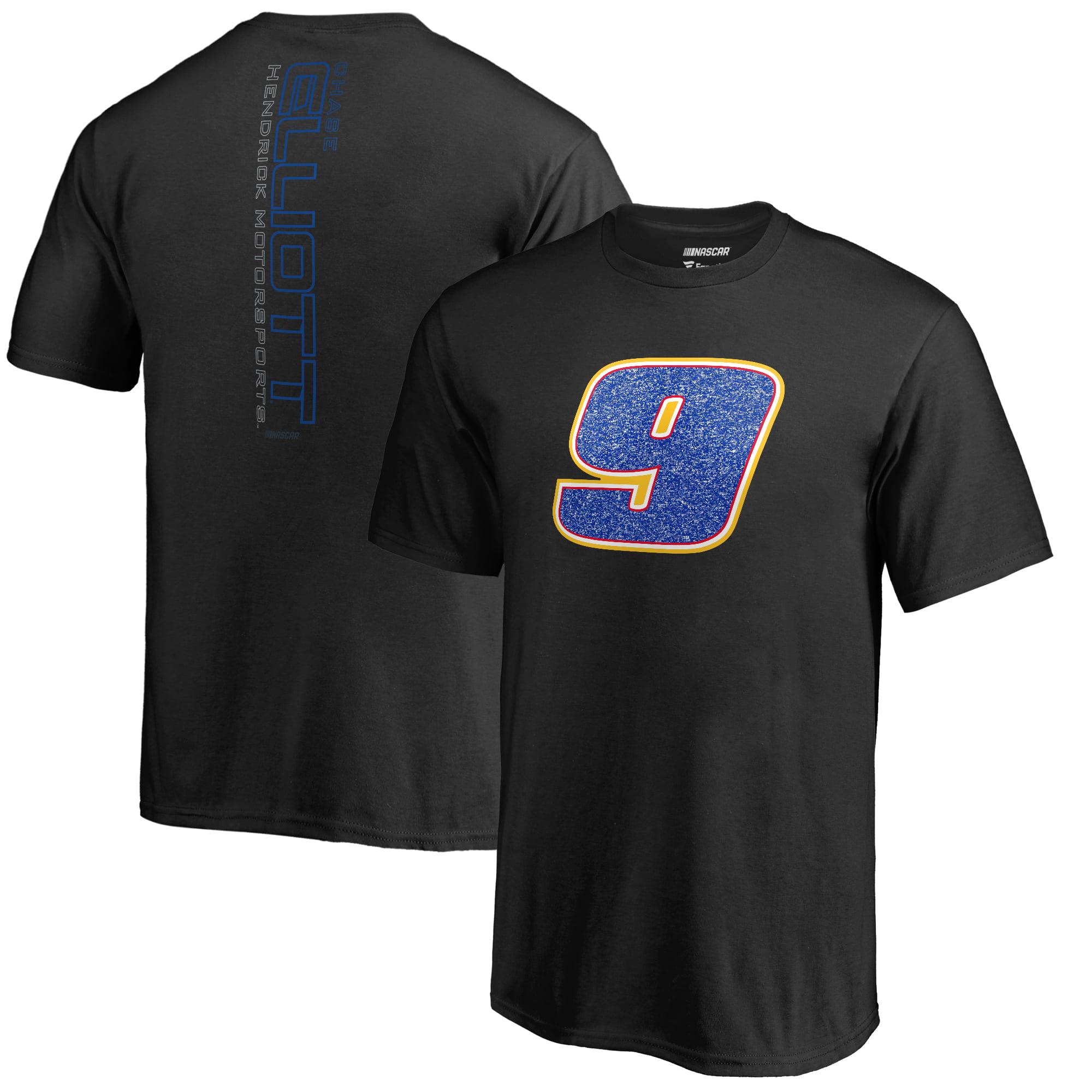 Chase Elliott Fanatics Branded Youth Static T-Shirt - Black