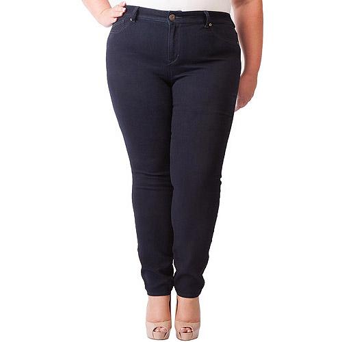 Jordache Women's Plus-Size 5-Pocket Denim Jegging