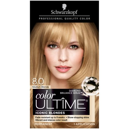 Schwarzkopf® Color Ultime® Iconic Blondes 8.0 Medium Blonde Hair Color
