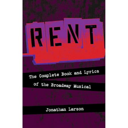 Hal Leonard Rent:  The Complete Book and Lyrics of the Broadway Musical](Halloween Lyrics Rent)
