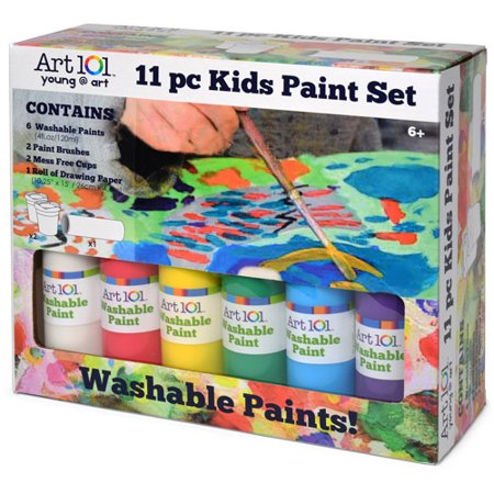 Art 101 kids 39 paint set for Walmart arts and crafts