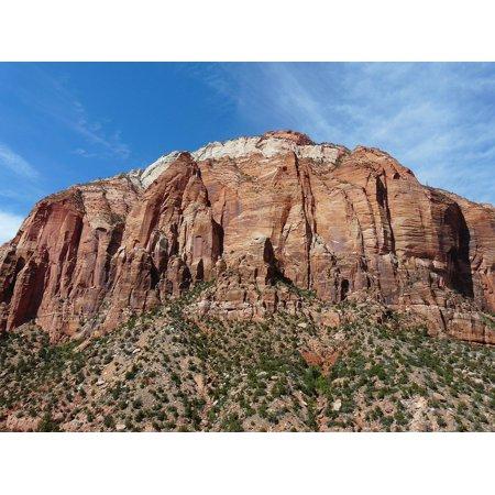 LAMINATED POSTER Mountain Usa Zion National Park United States Utah Poster Print 24 x 36