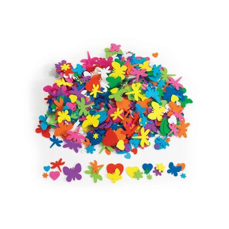 Bug Foam Shape (Colorations Flowers, Hearts & Bug Foam Shapes - 500 Pieces (Item # FFHB) )