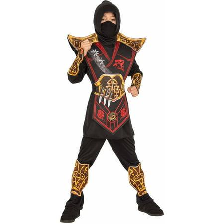 Ninja Sword Sale (Black Battle Ninja Child's Costume, Large)