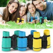 Garosa Child Binocular,3Colors 4x30 Maginification Child Kid Outdoor Birding Binocular Children Telescope Toy Gift,Kid Binocular