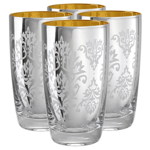 Artland Brocade Highball Glass (Set of 4)