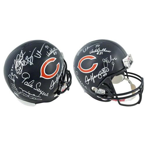 NFL - Chicago Bears Autographed Helmet | Details: Riddell Replica Helmet, with 8 Signatures