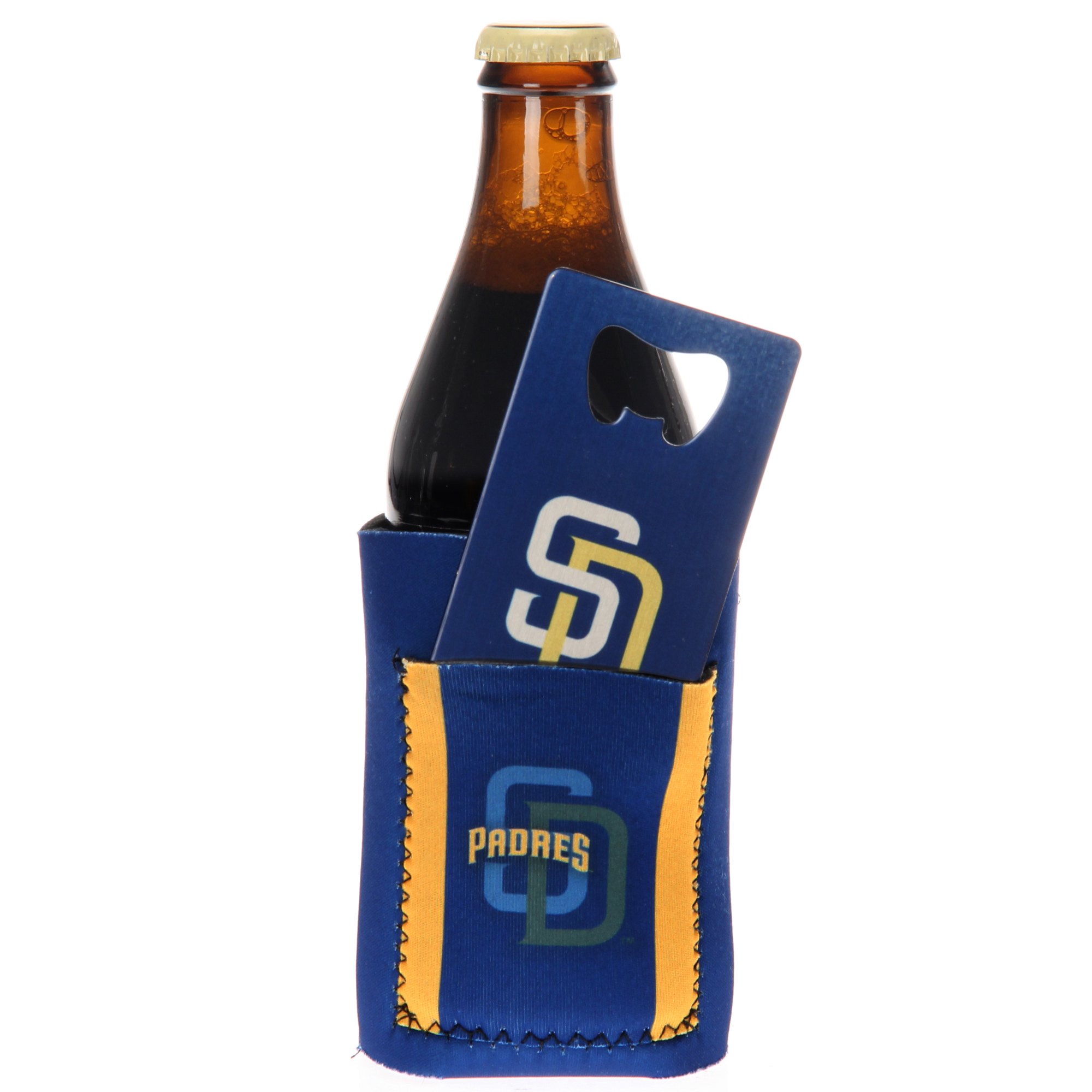 San Diego Padres Can Insulator with Pocket & Opener - No Size