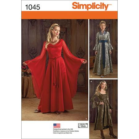 Simplicity Misses' Fantasy Costumes, 14-16-18-20