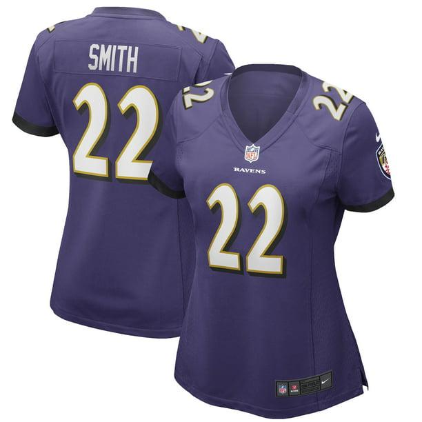 Jimmy Smith Baltimore Ravens Nike Women's Game Jersey - Purple