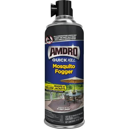 Amdro Quick Kill Mosquito Killer Aerosol Fogger; 14