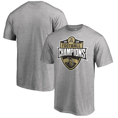 UCF Knights Fanatics Branded 2018 AAC Football Champions T-Shirt - Heather Gray