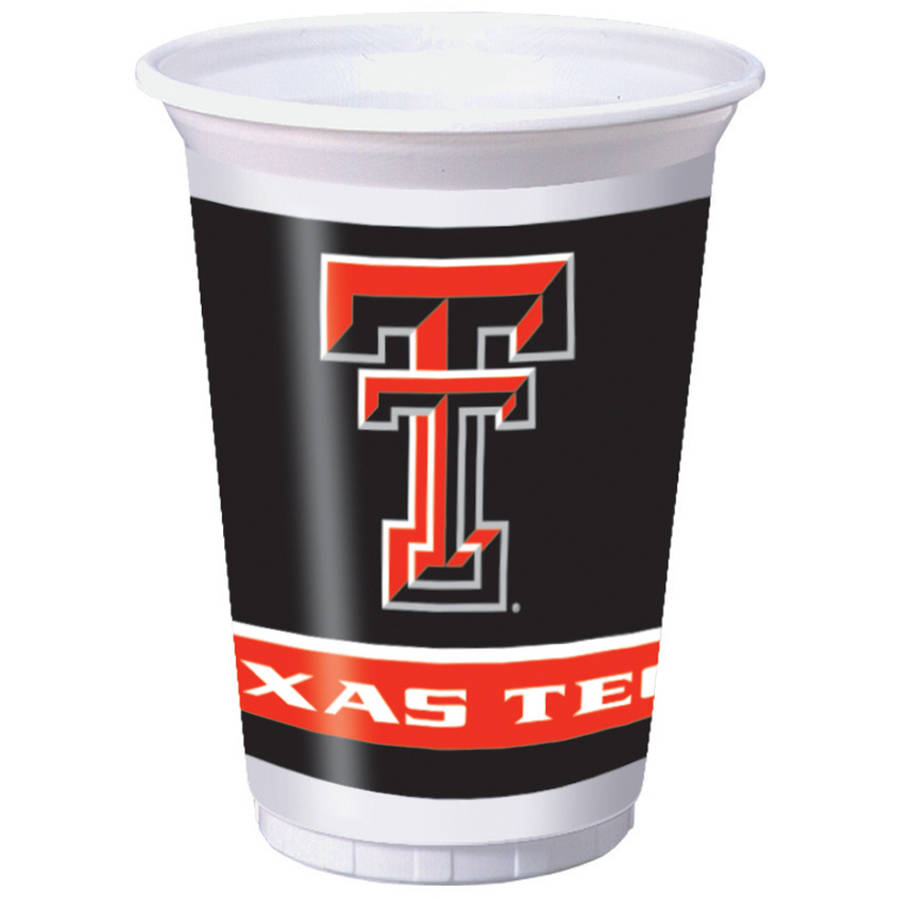 Texas Tech Red Raiders Cups, 8-Pack