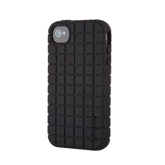 best website 94b04 cbe3e Speck PixelSkin HD Silicone Case for Apple iPhone 4 / 4S (Black)