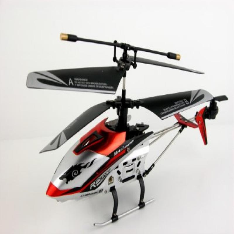 "JXD 4 Ch Indoor Infrared RC Gyroscope Helicopter ""Drift King"" - Colors May Vary"