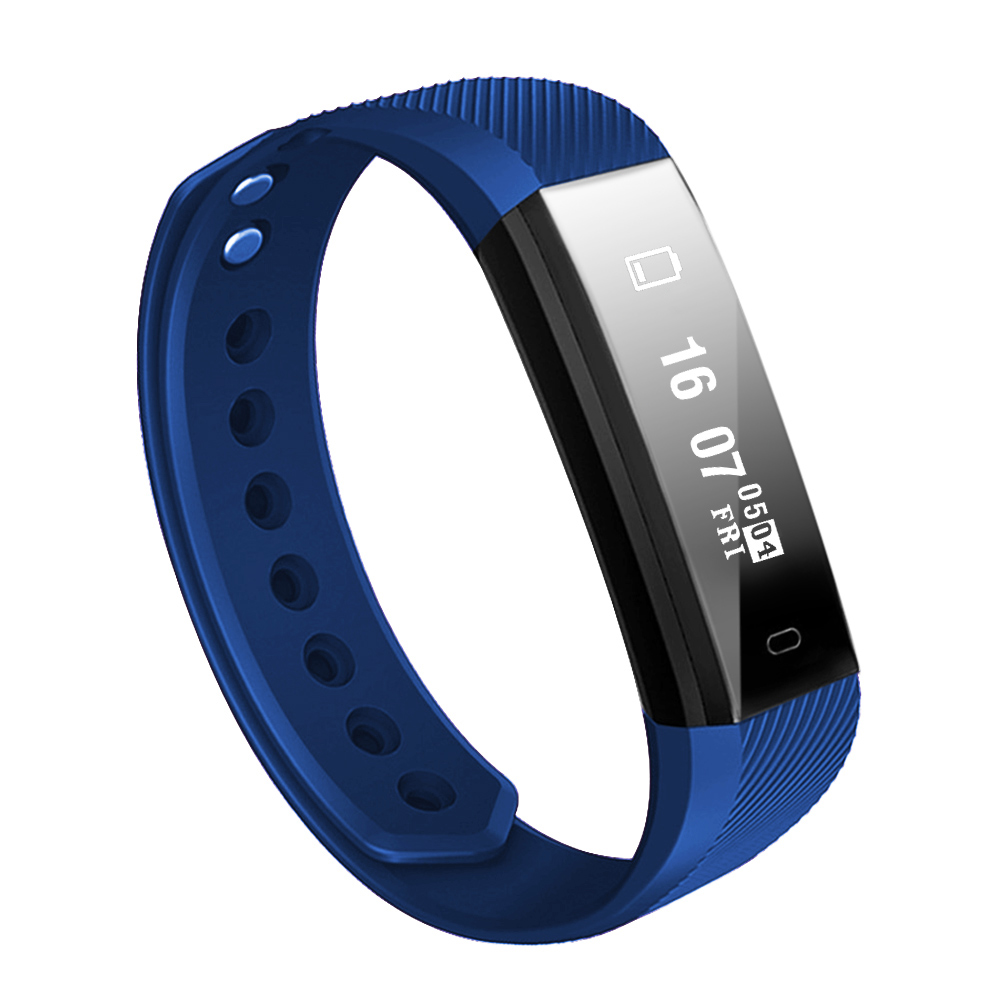 Smart Bracelet Heart Rate Monitor Fitness Tracker Monitor Life Waterproof Sports Wrist Band Watch for Android and IOS