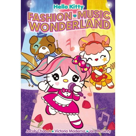 Hello Kitty: Fashion Music Wonderland - Halloween Hello Kitty Color Pages