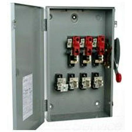 Eaton Cutler Hammer DG225NGK 400 Amp 240v Safety Disconnect Switch