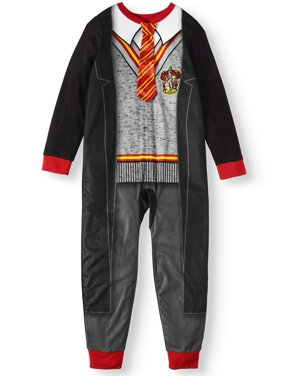Harry Potter Girl's Pajama Blanket Sleeper Onesie (Little Girls & Big Girls)