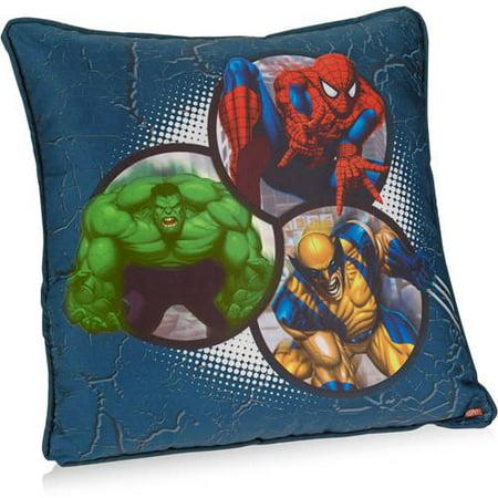 Marvel Heroes Decorative Pillow Walmart Amazing Teenage Decorative Pillows