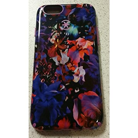 separation shoes f389b fac9e Speck CandyShell Inked iPhone 6s & iPhone 6 Case, Lush Floral/Beaming Orchid