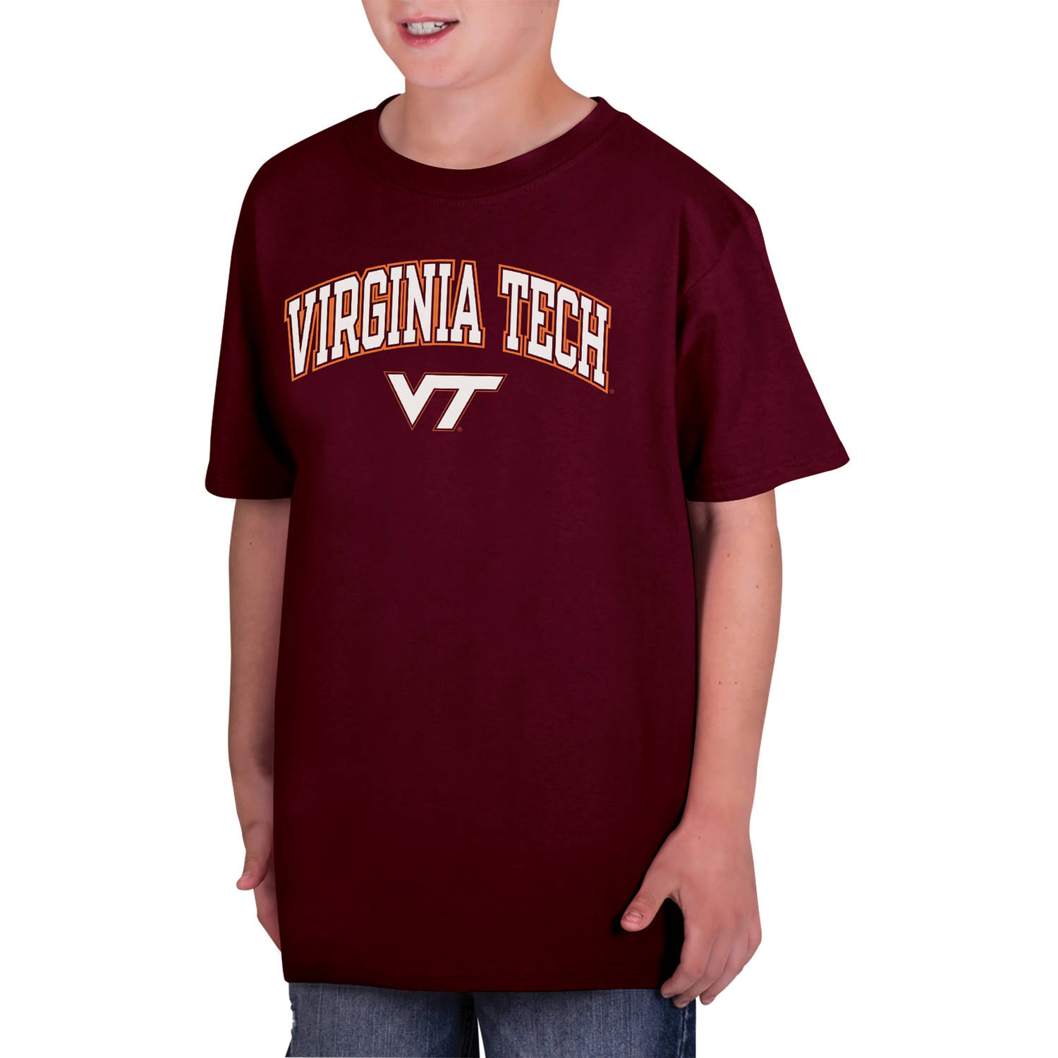 NCAA Virginia Tech Hokies Boys Classic Cotton T-Shirt