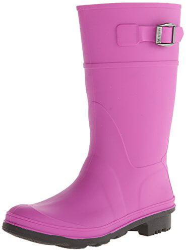 Kamik Raindrops Rain Boot Viola, 12 M US Little Kid