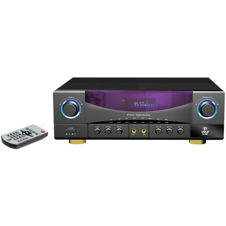 PYLE HOME PT530A 2-Channel, 350-Watt Stereo Receiver by