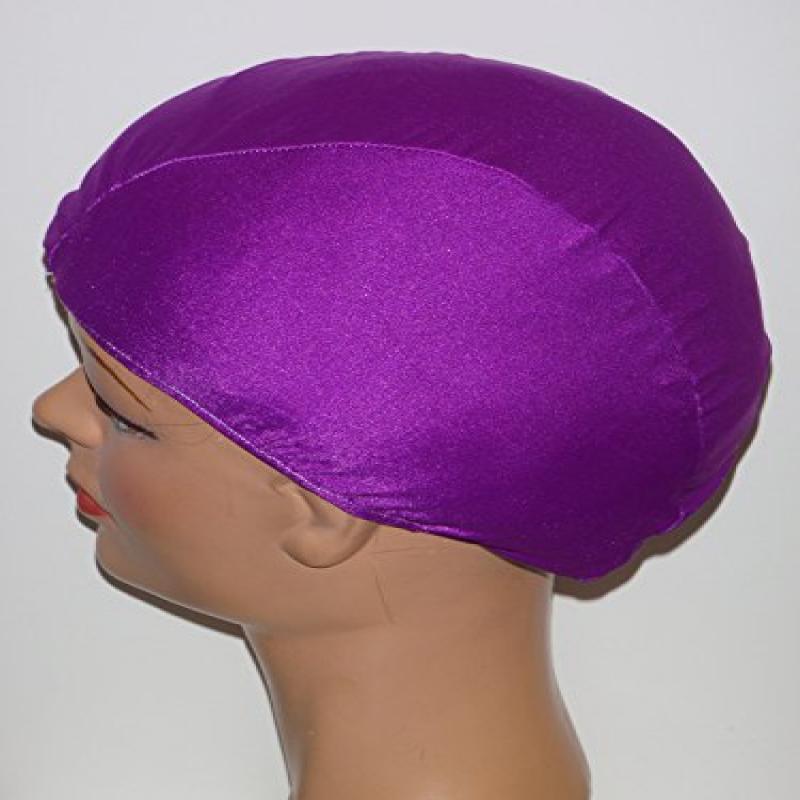 Extra Large Plum Lycra Swim Cap (XL)