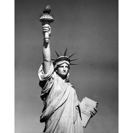Statue with a torch Statue of Liberty New York City New York USA Poster Print (Statue Of Liberty Torch)
