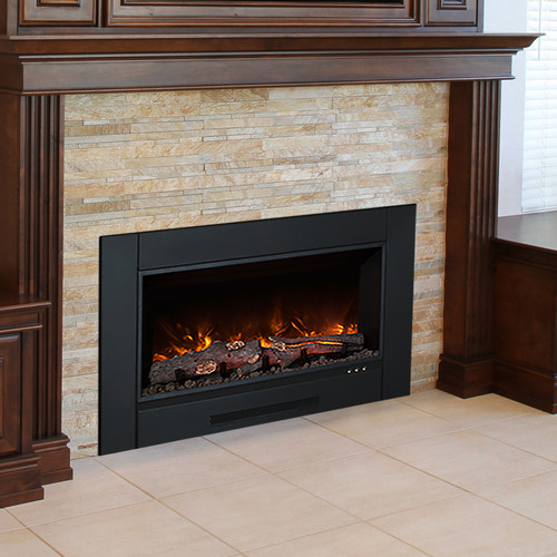 modern flames zcr series electric fireplace insert - Modern Electric Fireplace