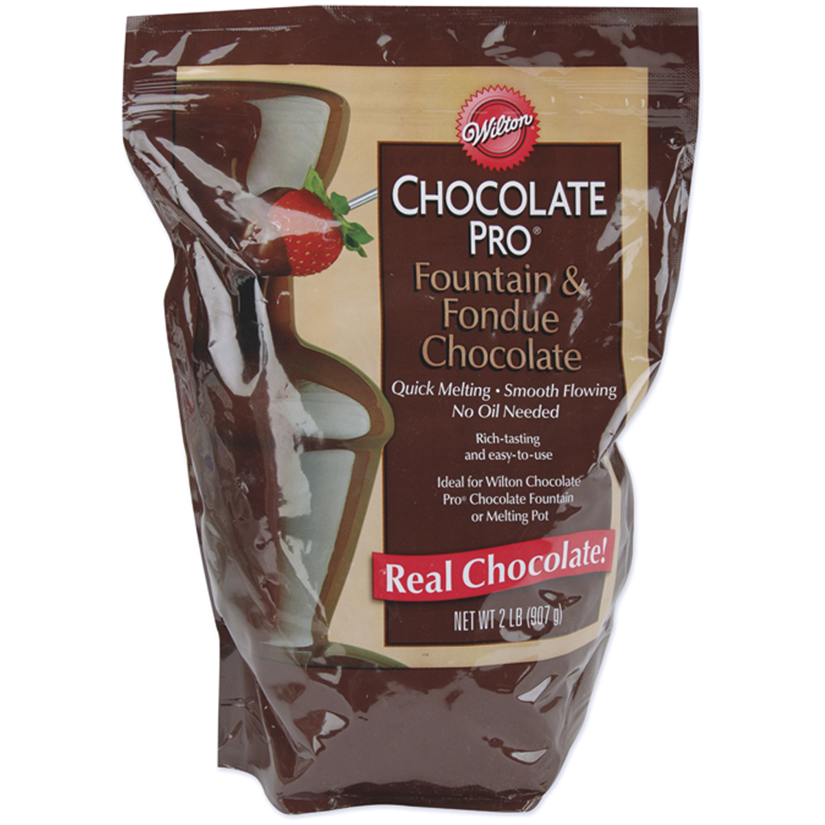 Chocolate Pro Fountain & Fondue Chocolate-Wafers 2 Pounds by