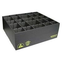 PROTEKTIVE PAK 38808 ESD Divider Box, 40-3/4 x 38-1/2 x4-1/4in
