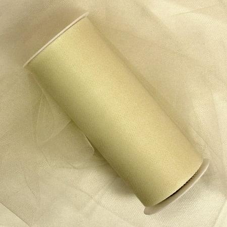 Ivory Bulk Tulle 12