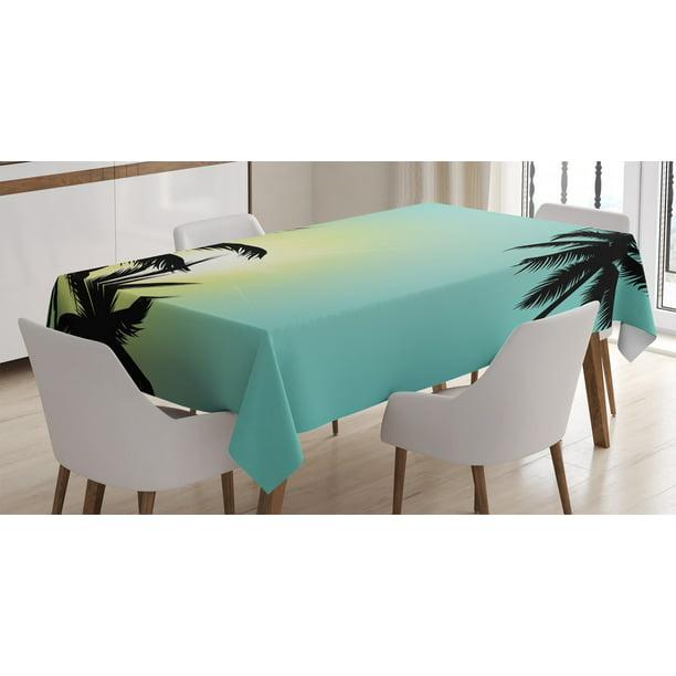 Modern Tablecloth Hawaiian Miami Beach, Modern Dining Room Furniture Miami Beach