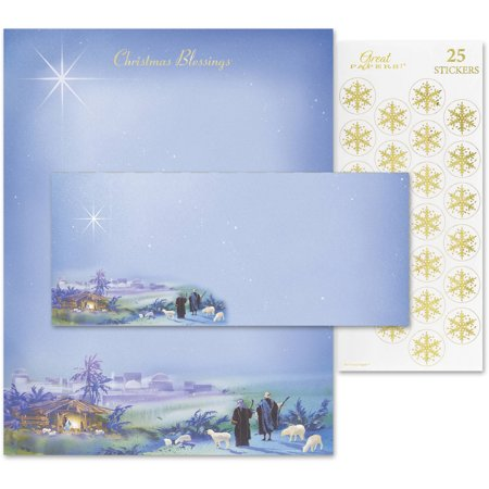 Great Papers! Wondrous Light Stationery Kit, 25 Count