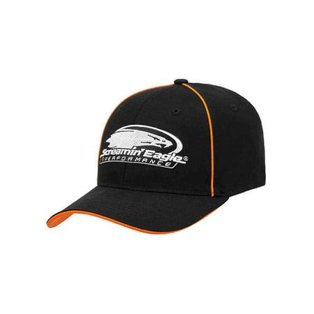 - Harley-Davidson Men's Screamin' Eagle Headline Flex Cap, Black HARLMH0313 (L/XL), Harley Davidson