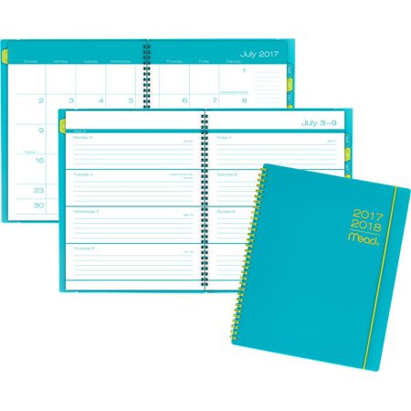 mead color pop academic weekly monthly planner planners