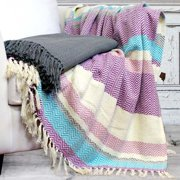 Amrapur Overseas Inc. Cotton Throw Blanket (Set of 2)