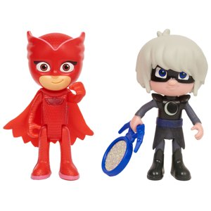 PJ Masks Light Up Hero and Villian 2-Pack - Owlette and Luna Girl